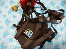 7mx2cm galon simili cuir marron foncé,  lots non coupés disponibles ,  neuf s