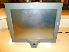 "Ncr Pos Touchscreen Monitor Terminal 7754 15"" Biometric Reader Asis Please read"