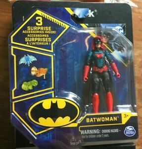 Spin Master DC Comics BATWOMAN with TECH Suit  VHTF