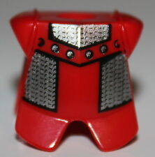 LeGo Castle Red Adric Kentis Armor Chain Mail Pattern