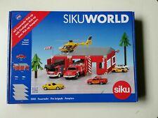 Siku 5502 SIKUWORLD Startset  Feuerwehr,Fire brigade,Pompiers.Neu in OVP !!