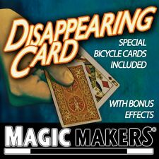 The Disappearing Card Trick - Magic Trick - Magic Makers - New
