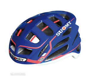 Suomy GUN WIND S-Line Road Cycling Helmet : BLUE/RED - NEW IN BOX!