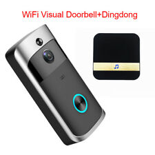 Smart Wireless WiFi Intercom Home HD Video Doorbell Camera Remote Phone DingDong