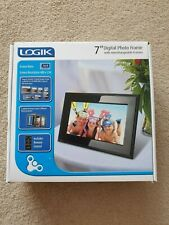 Logic 7'' Digital Photo Frame With Interchangeable Frames