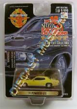 1971 '71 PLYMOUTH GTX YELLOW 1 OF 9,999 RC RACING CHAMPIONS RC MINT DIECAST RARE