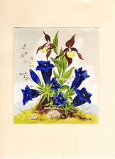 Schöne Malerei Blumen Gemälde Kunst Schmuck