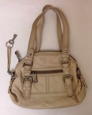 Fossil Purse 54 Fifty Four Large Purse Ivory Leather Fossil Bag With Keychain