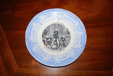 EXCEPTIONAL CREIL MONTEREAU THE PLEASURES OF HOUSEHOLD WALL OR CABINET PLATE #5