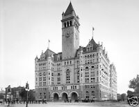 Photograph of the Washington DC  Post Office Year 1905 8x10
