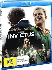 INVICTUS - Morgan Freeman - Matt Damon -  BLU-RAY