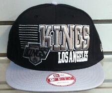 LOS ANGELES KINGS SNAPBACK CAP BORDERLINE NEW ERA GREEN UNDERVISOR RETRO VINTAGE