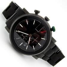 Men's GUCCI 101M Chrono Watch Black PVD YA101331 Quartz-SWISS 3 ATM Pre-Owned