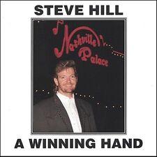Steve Hill-A Winning Hand  CD NEW