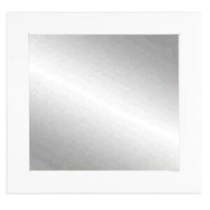 "BrandtWorks Matte White Square Mirror, 32"" x 32"" - BM003SQ"