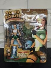 Lara Croft Tomb Raider 2000 Playmates Sealed Moc 6� Black Figure W/ Crocodile