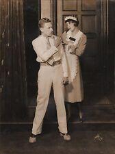 "FLORENCE ELDRIDGE & ERIC DRESSLER in ""Young Blood"" - Original Vintage Photo"