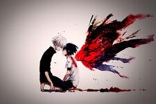 "185 Tokyo Ghoul - Manga Series Sui Ishida Japanese Anime 21""x14"" Poster"