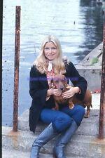 KAREN CHERYL 70s DIAPOSITIVE DE PRESSE ORIGINAL VINTAGE SLIDE #109