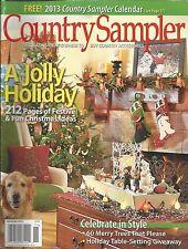 Country Sampler magazine Christmas Holiday home decor Festive ideas Merry trees