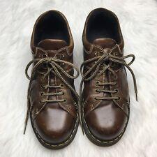 Men's Doc Martens Brown Oxford Platform Lace Ups 8A42 Size 13 US Platform