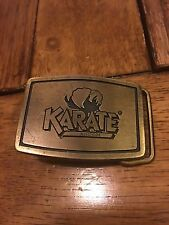 Mens Vintage Karate Insecticide Belt Buckle by ICI Agricultural Products