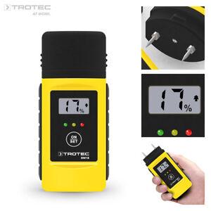 TROTEC Feuchtemessgerät BM18 | Feuchtemesser Feuchtigkeitsmessgerät Holzfeuchte