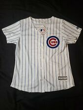 New Chicago Cubs Jersey Women's Medium Majestic Cool Base mlb