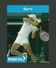 Justine Henin Hardenne Tennis Celebrity Collector Card
