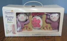 Summer Pretty Pals Mobile for babies Baby Crib Mobile, cute animals!