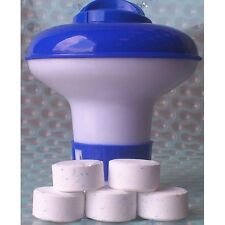 Chlorine Bromine Dispenser with 20 Tablets for Spa Hot Tub Swimming Pool