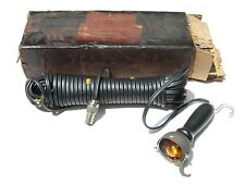 VINTAGE NOS CLAMSHELL UNDERHOOD TROUBLE LIGHT MILITARY WILLYS JEEP HOT ROD