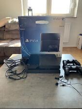 PlayStation 4 Konsole 500GB Jet Black inkl. 2 Controller Gebraucht