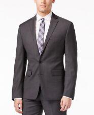 Ryan Seacrest Men's New Modern-fit Two Button Wool Blazer,Grey,Size 46REG   $400