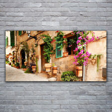Wall art Print on Plexiglas® Acrylic 120x60 House Architecture