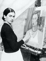 Retro Vintage Legend Frida Kahlo Mexican Artist A0 A1 A2 A3A4 Photo Poster