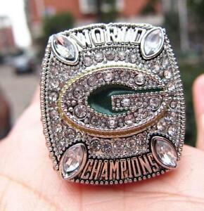 2010 Green Bay Packers American Football Team Ring Souvenir Fan Men Gift