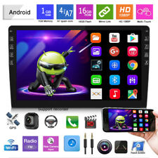 10.1inch Car Android 9.1 Blueteeth Stereo Radio Double 2 DIN Player GPS Wifi USB