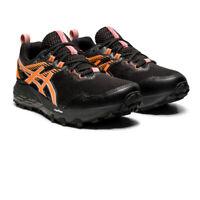 Asics Womens Gel-Sonoma 6 GTX Running Shoes Trainers Sneakers Black Orange