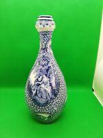 beau vase à l'antique bleu allemand céramique 1755 LOUIS XVI