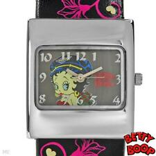 BETTY BOOP UNIQUE Collectors Brand New Ladys Bangle Watch + FREE BETTY KEY CHAIN