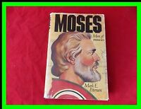 LDS Moses : Man of Miracles by Mark E. Petersen Hardcover 1977