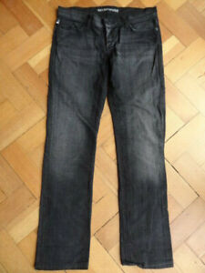 (199APR) Size 10 *ROCK & REPUBLIC* Black stretch denim lowrise jeans ladies