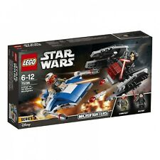 LEGO® Star Wars™ 75196 A-Wing™ vs. TIE Silencer™ Microfighters NEU OVP NEW MISB