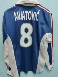 MEN ADIDAS HOME YUGOSLAVIA MIJATOVIC CAMISETA TRIKOT MAGLIA MAILLOT EURO 2000