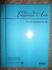 NEW ATI Wisdom Booklet LANGUAGE ARTS LEVEL B WBLA 41-44
