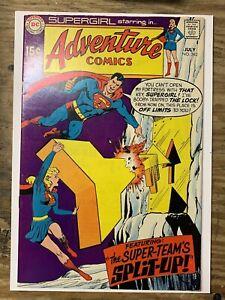 Adventure Comics #382/Silver Age DC Comic Book/Supergirl/VF+