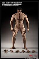 1/6 Phicen Super Flexible Male Muscular Seamless Body Tbleague M35 TBLeague