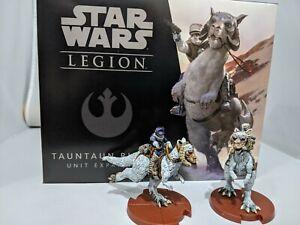 Star Wars Legion Tauntaun Riders  unit Expansion PAINTED