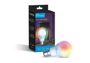 RGB LED Smart Colour Light Bulb 9W B22 WiFi App Control with Google and Alexa